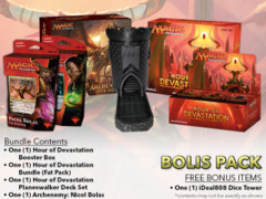 MTGHOU Bolas Pack - Get x1 Hour of Devastation Booster Box; x1 Bundle; & 1 Planeswalker Deck Set; & 1 Archenemy: Nicol Bolas