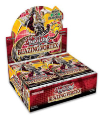 Blazing Vortex [BLVO] (1st Edition) Yugioh Booster Box [24 Packs] * PRE-ORDER Ships Feb.05, 2021