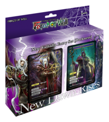 NV01 Darkness Attribute (English) Force of Will Starter Deck