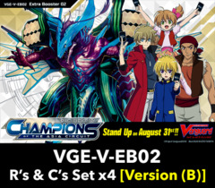 # Champions of the Asia Circuit (V-EB02)  Common & Rare Set [Listing-ID (B)] (Includes R's, & C's)
