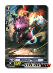 Chronodash Peccary - G-TD09/009EN - RRR (Hot Stamp Foil)