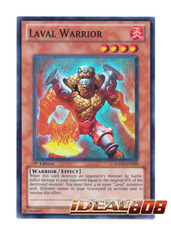 Laval Warrior - HA05-EN009 - Super Rare - 1st Edition