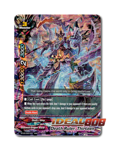 Death Ruler, Thirteen - BT05/0007 - RRR