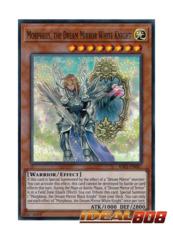 Morpheus, the Dream Mirror White Knight - RIRA-EN087 - Super Rare - Unlimited Edition