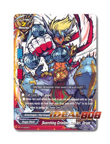 Scorching Crimson Battler, Drum [PR/0082EN] English Promo