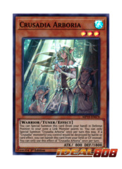 Crusadia Arboria - MP19-EN078 - Super Rare - 1st Edition