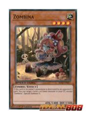 Zombina - SBAD-EN017 - Super Rare - 1st Edition