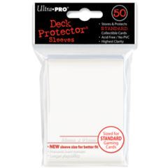 Ultra Pro Large Sleeves 50ct. - White (#82668)