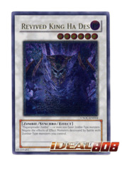 Revived King Ha Des - CSOC-EN044 - Ultimate Rare - Unlimited Edition
