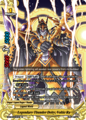 Legendary Thunder Deity, Voltic Ra [S-BT06/0030EN R (FOIL)] English