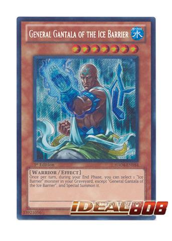 General Gantala of the Ice Barrier - HA04-EN054 - Secret Rare - Unlimited Edition