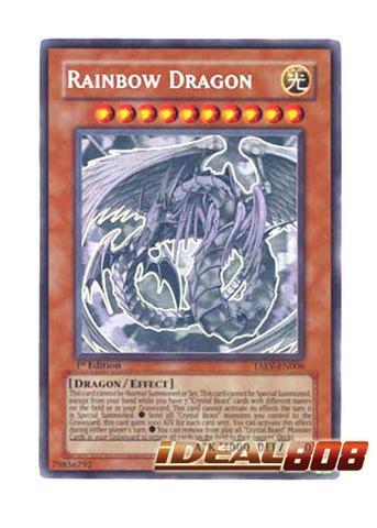 Rainbow Dragon - TAEV-EN006 - Ghost Rare - Unlimited Edition