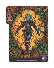 Bushiroad Cardfight!! Vanguard Deck Divider - BT07 Dark Lord of Abyss