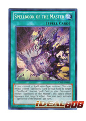Spellbook of the Master - CBLZ-EN062 - Secret Rare - Unlimited Edition