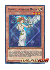 Minerva, Lightsworn Maiden - SDLI-EN002 - Super Rare - 1st Edition