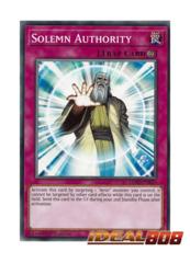 Solemn Authority - LEHD-ENB29 - Common - 1st Edition