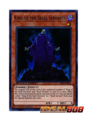King of the Skull Servants - SBLS-EN031 - Super Rare - 1st Edition