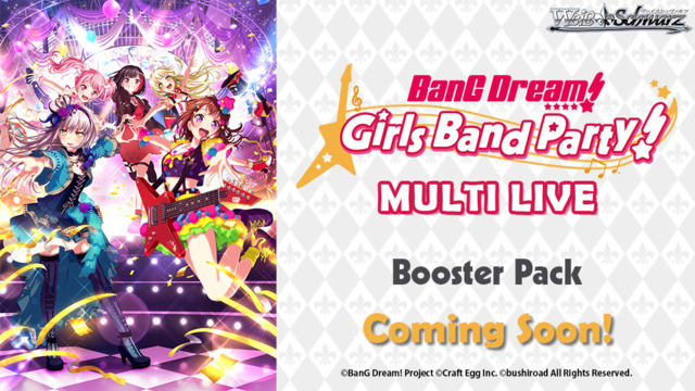Weiss Schwarz BDML Bundle (A) Bronze - Get x2 BanG Dream! Girls Band Party! MULTI LIVE Booster Boxes + FREE Bonus Items