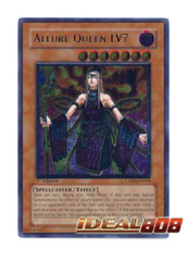 Allure Queen LV7 - CDIP-EN008 - Ultimate Rare - 1st Edition
