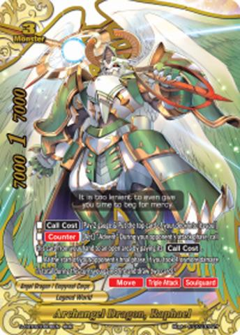 Archangel Dragon, Raphael [S-CBT02/0006EN RRR (FOIL)] English