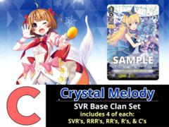# Crystal Melody [V-EB11 ID (C)] SVR Bermuda Triangle Base Set [4 of each SVR's, RRR's, RR's, R's, & C's (188 Cards)]