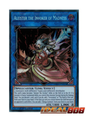Aleister the Invoker of Madness - SHVA-EN020 - Secret Rare - 1st Edition
