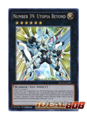 Number 39: Utopia Beyond - NECH-EN095 - Super Rare - 1st Edition
