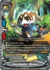 Investigator, Mazuru [S-BT02/0042EN U (Regular)] English