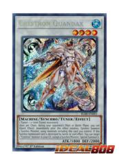 Crystron Quandax - BLRR-EN083 - Secret Rare - 1st Edition
