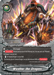 Weather the Dragons [S-BT04/0042EN U (Regular)] English