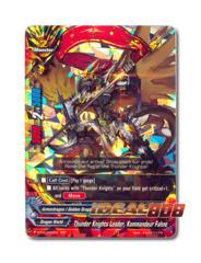 Thunder Knights Leader, Kommandeur Fahne - BT03/0002EN (RRR) Triple Rare