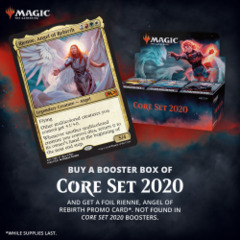 Core Set 2020 Booster Box [Buy-A-Box Promo included (In-Store Pickup Only)]  * Available Jul 05 (Prerelease) * Limit 4 per