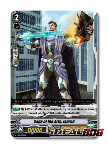 Sage of the Arts, Jauron - V-TD01/006EN (Regular)