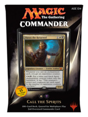 Commander 2015: Call the Spirits (White/Black) feat. Daxos the Returned
