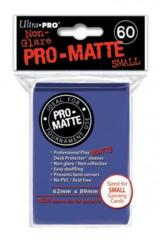 Ultra Pro Matte Non-Glare Small Sleeves 60ct - Blue (#84264)