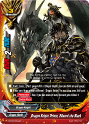 Dragon Knight Prince, Edward the Black [D-BT02/0044EN U (FOIL)] English