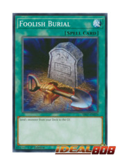 Foolish Burial - SR07-EN029 - Common - 1st Edition
