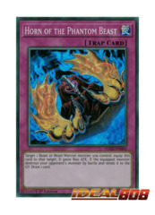 Horn of the Phantom Beast - DASA-EN060 - Super Rare - 1st Edition