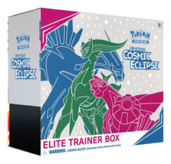 SM Sun & Moon - Cosmic Eclipse (SM12) Pokemon Elite Trainer Box