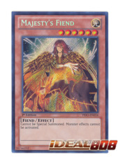 Majesty's Fiend - PRIO-EN034 - Secret Rare - 1st Edition