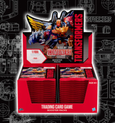B02 Rise of the Combiners (English) Transformers TCG Booster Box [30 packs] * PRE-ORDER Ships Mar.01