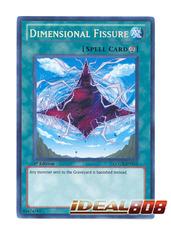 Dimensional Fissure - LCGX-EN215 - Secret Rare - 1st Edition