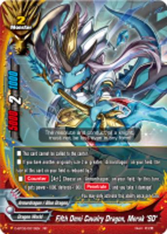 Buddyfight x 4 Blade Beast of Guillotine Oden Tamitsuyo Engli D-BT02//0049EN U