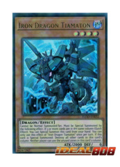 Iron Dragon Tiamaton - FLOD-EN032 - Ultra Rare - Unlimited Edition