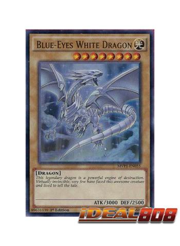Blue-Eyes White Dragon - MVP1-EN055 - Ultra Rare - 1st Edition