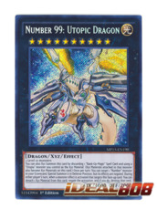 Number 99: Utopic Dragon - MP15-EN190 - Secret Rare - 1st Edition
