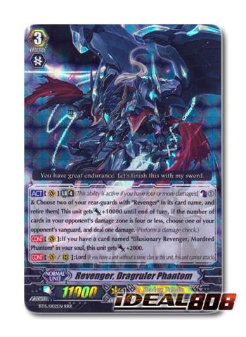 Revenger, Dragruler Phantom - BT15/002EN - RRR