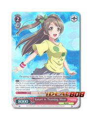 Kotori in Training Wear [LL/EN-W01-076R RRR (FOIL)] English