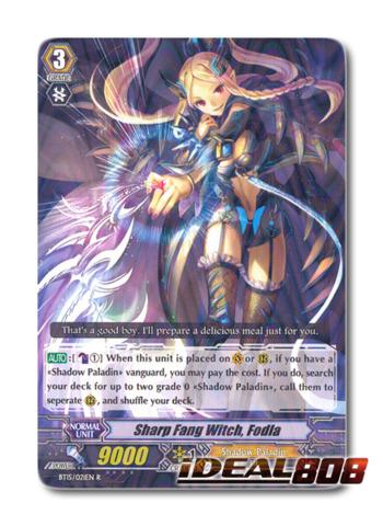 Sharp Fang Witch, Fodla - BT15/021EN - R