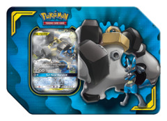 Power Partnership Pokemon Tin: Lucario Melmetal GX